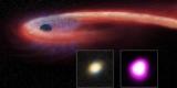 Астрономы показали необычную черную дыру